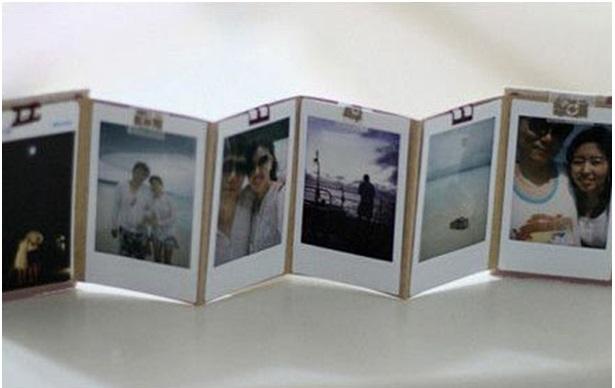 Rulo Kağıdından Fotoğraf Albümü Yapmak