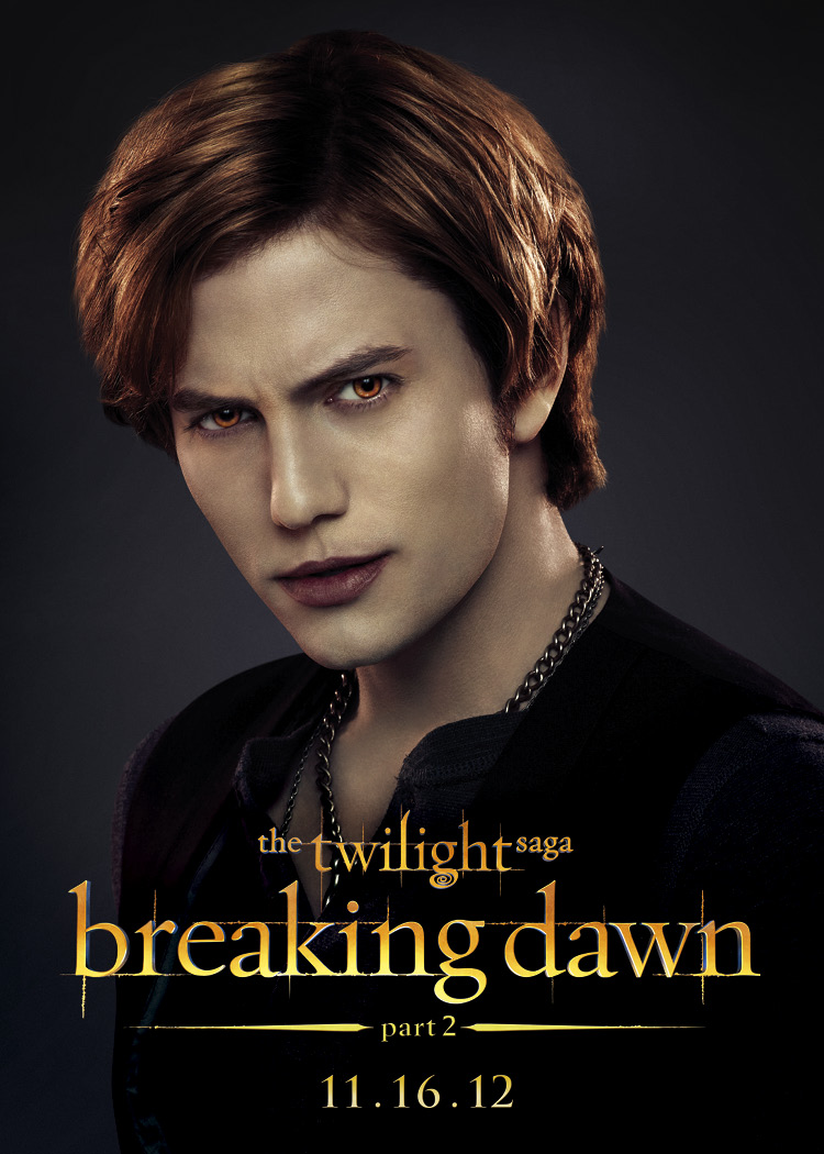 Tons Character Posters For The Twilight Saga Breaking