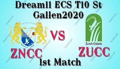 Who will win ZNCC vs ZUCC 1st T10 Match