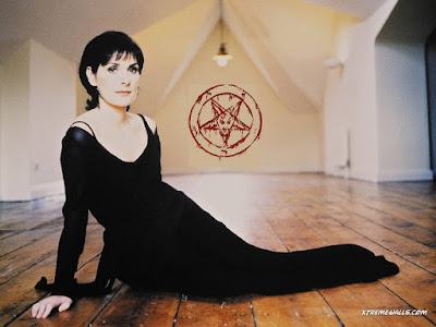 Enya in no way worshipping satan in somebody's attic