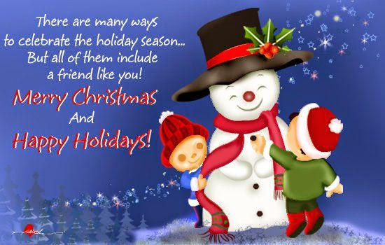 merry christmas poems for freinds