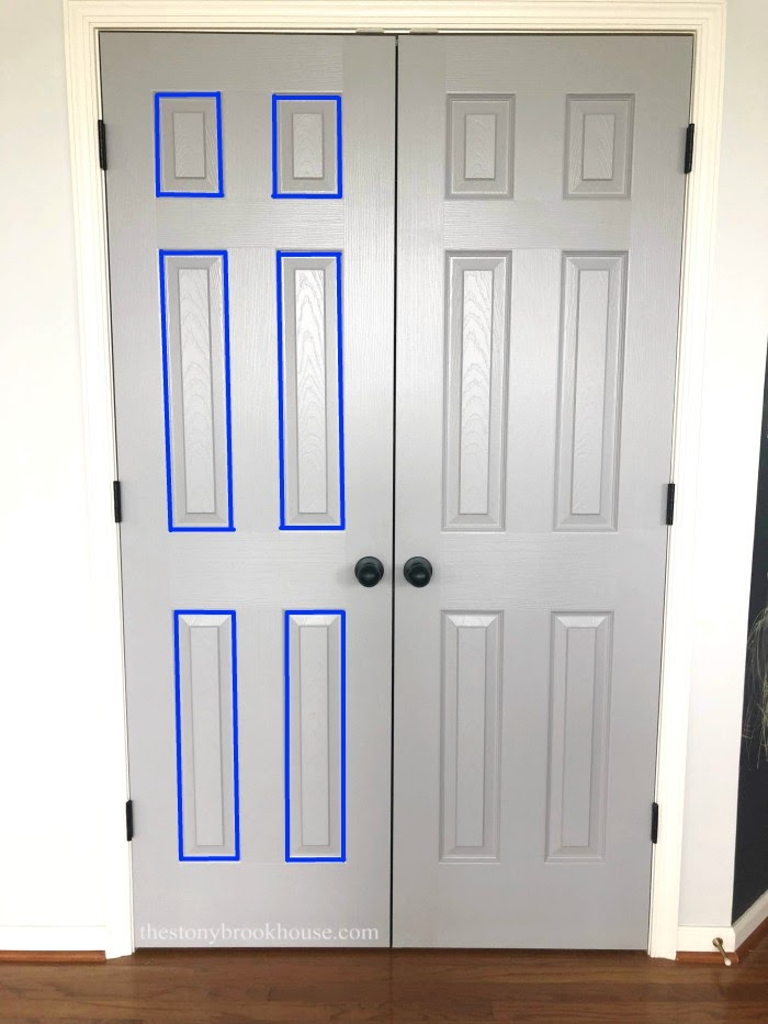 Painting order for doors