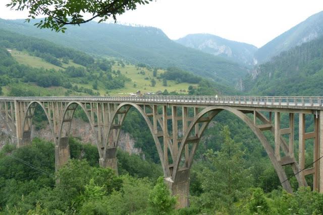 Montenegro, brug over Tarakloof