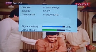 Skystar Telegu channel also added in MPEG-2 on DD Freedish