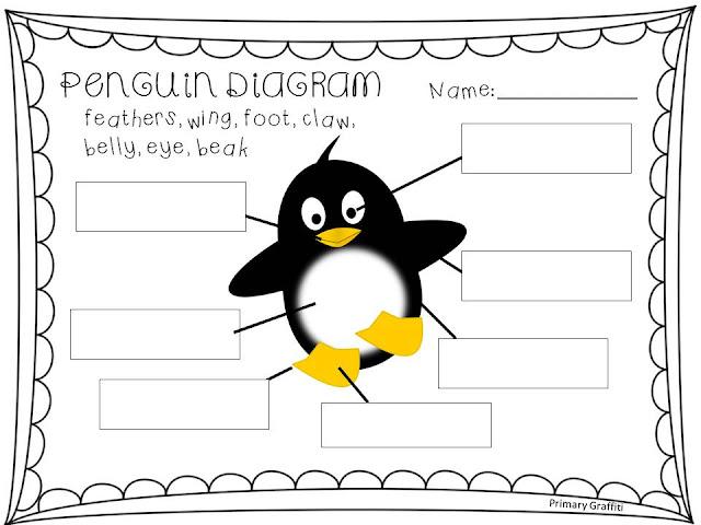 primary graffiti: five for friday little penguin diagram #13