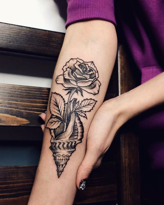 Mytattooland.com: Seashell Tattoos