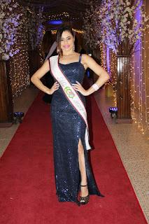 Party Magalhaes recebeu faixa de Miss Eco panamericano São Paulo 2019.