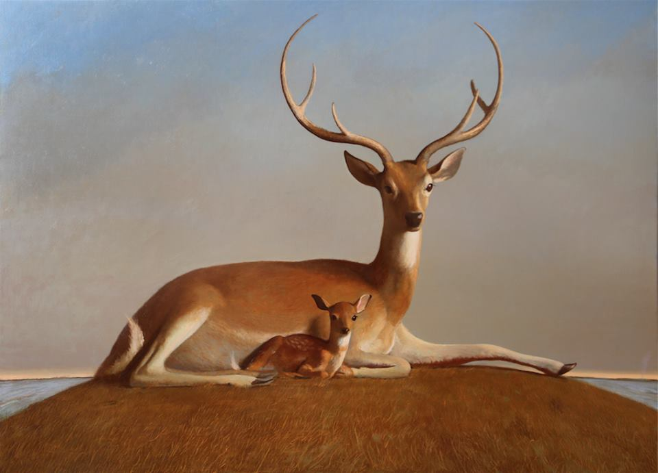bo-bartlett-painter-artist-painting-deer-the covenant