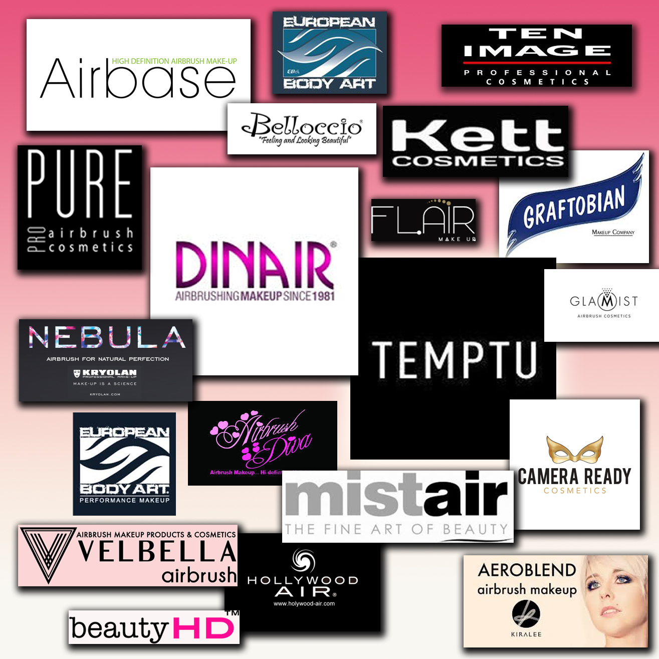 The Airbrush Makeup Guru Links Directory