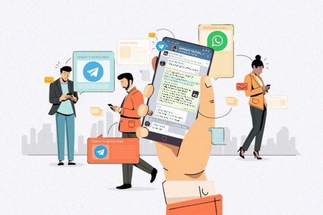 Telegram Jauh Lebih Baik Dari WhatsApp, Kok Bisa ? designed by freepik.