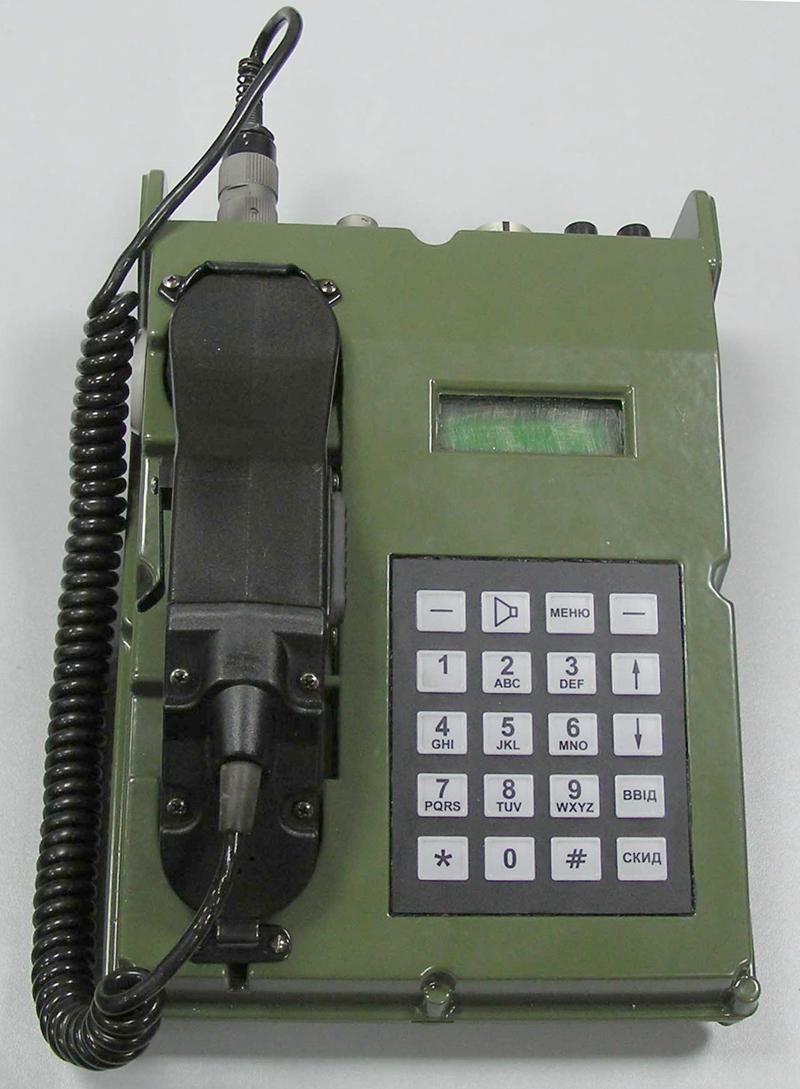 Апарат телефонний цифровий ЦТА-04
