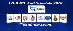 Vivo IPL 2019 Full Schedule : Check Leaked Full IPL 2019 Match Schedule