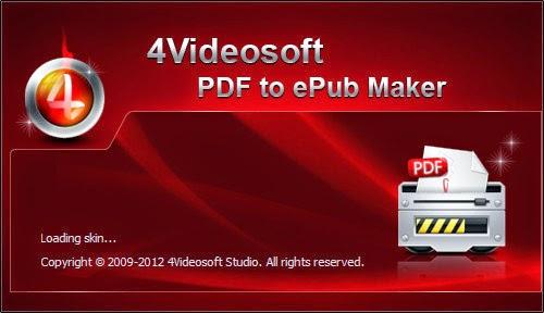 4Videosoft PDF to ePub Maker