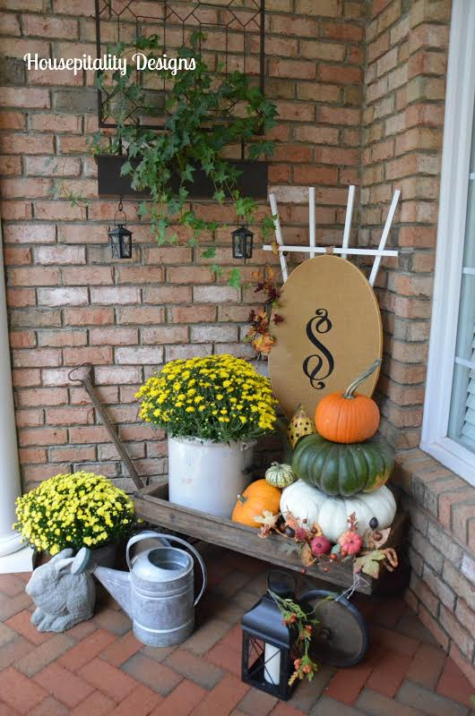From My Front Porch To Yours- Falling For Fall Porch Party- Housepitality Designs