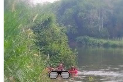 Penemuan Mayat Misterius Dialiran Sungai Seneng Giriwono,Soal Identitas Begini Pernyataan Polisi