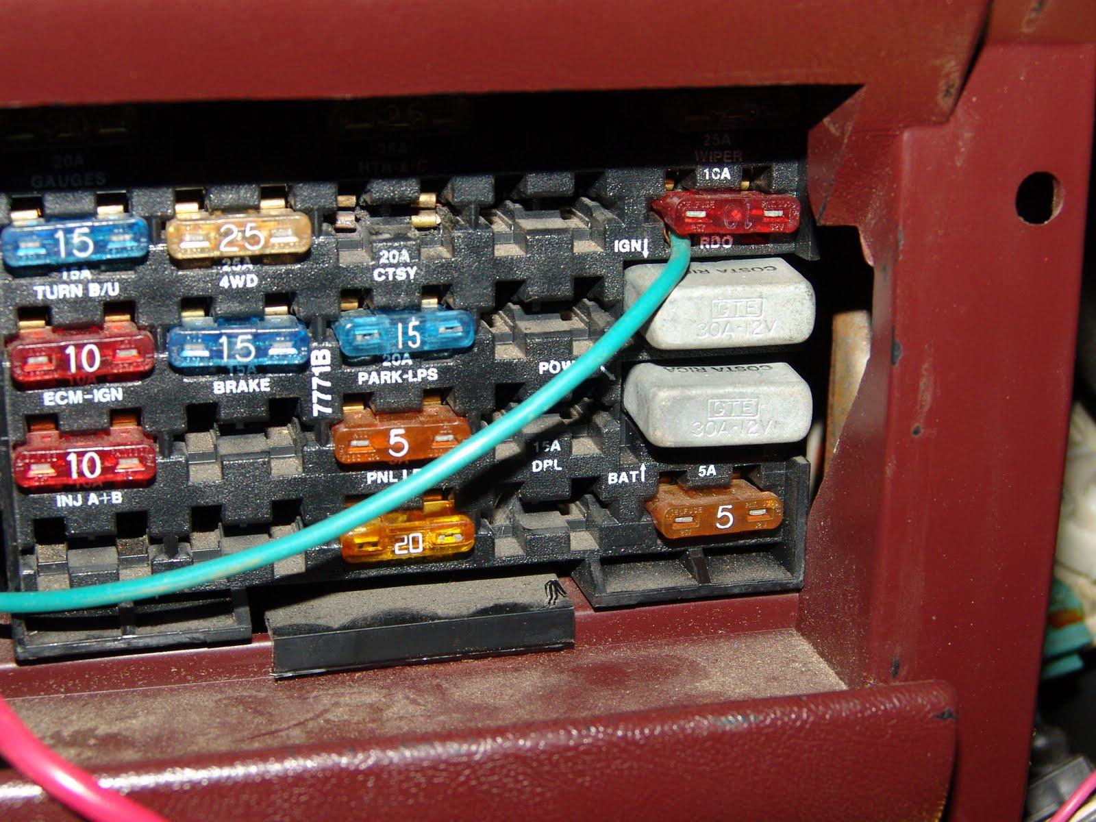 Chevrolet Steering Column Wiring Diagram