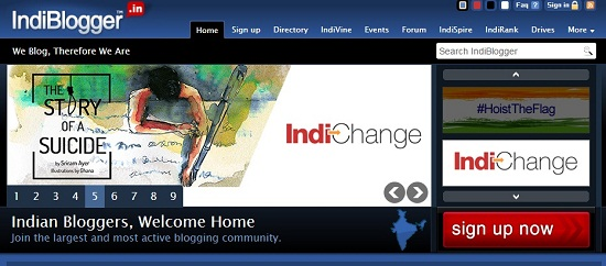 Indiblogger Blog Directory, Blogger Directory