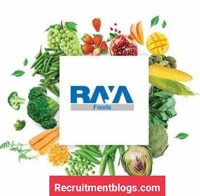 Summer Internship at Raya Foods