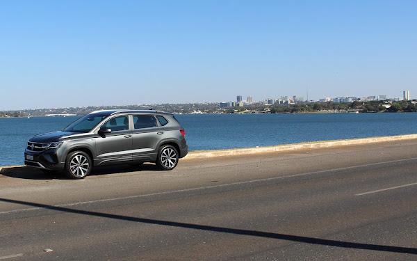 Volkswagen Taos - Lago Paranoá - Brasília (DF)