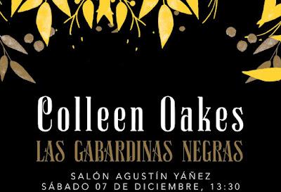 Agenda FIL: ¡Colleen Oakes regresa a Guadalajara!
