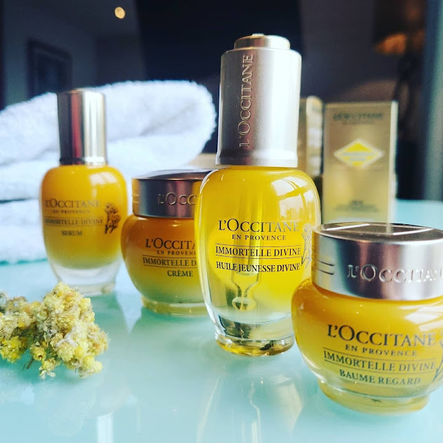 Loccitane Divine Immortelle Collection
