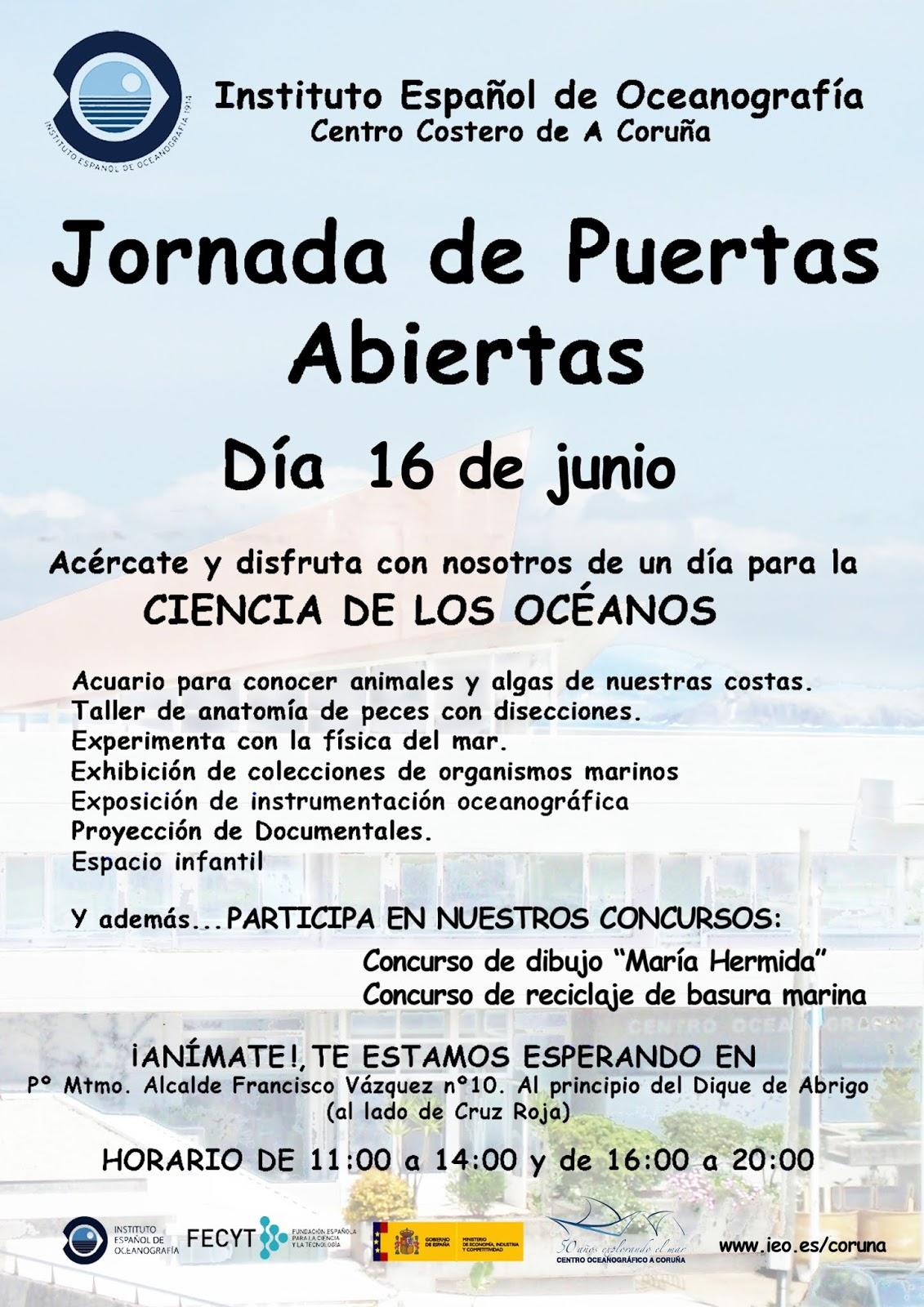 MILNEN@S: Jornada de Puertas Abiertas del Centro Oceanográfico de A ...