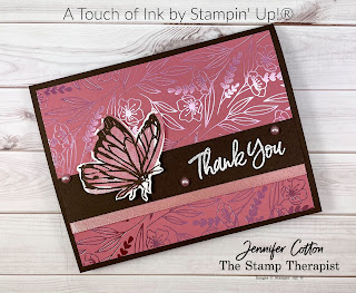 Stampin' Up!'s Sale a Bration set A Touch of Ink.  #StampinUp #StampTherapist