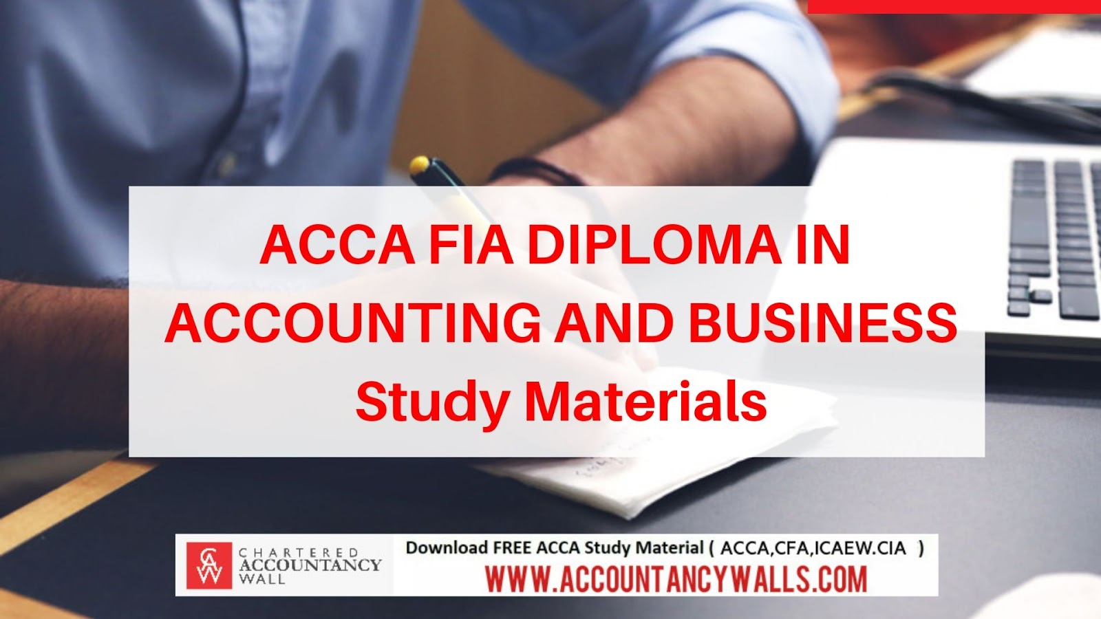 ACCA FIA DIPLOMA IN ACCOUNTING AND BUSINESS - FREE
