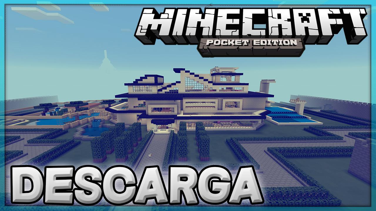 Super epic casa moderna para minecraft pe super for Casas modernas minecraft 0 14 0