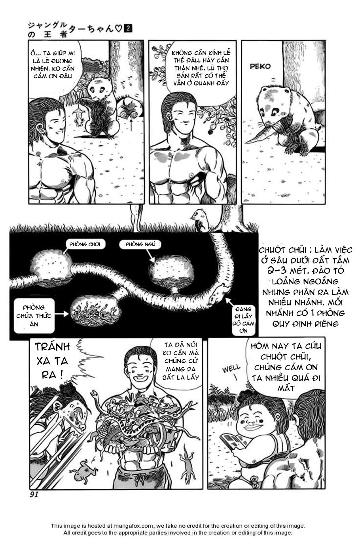 Chúa rừng Ta-chan chapter 28 trang 4
