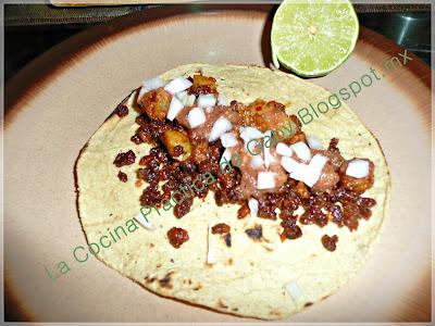 Tacos De Longaniza Estilo Df
