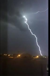 Chuva no Sertão da Paraíba provoca relâmpagos e trovões; assista