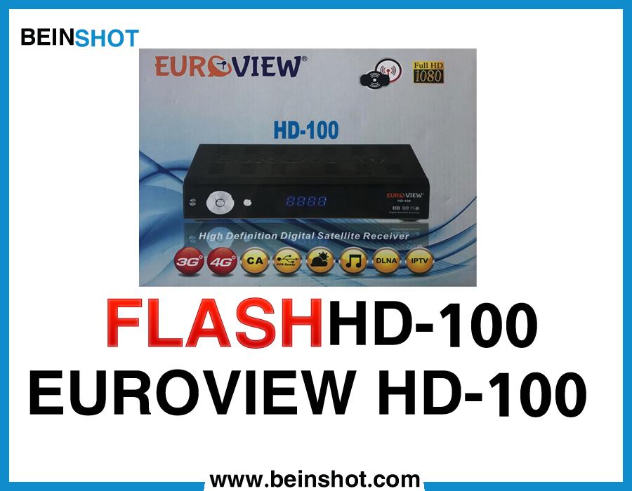 التحديث  الرسمي لجهاز EUROVIEW HD-100