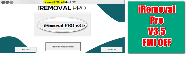 iREMOVAL PRO iCloud Bypass Tool MEID | GSM | FMI OFF