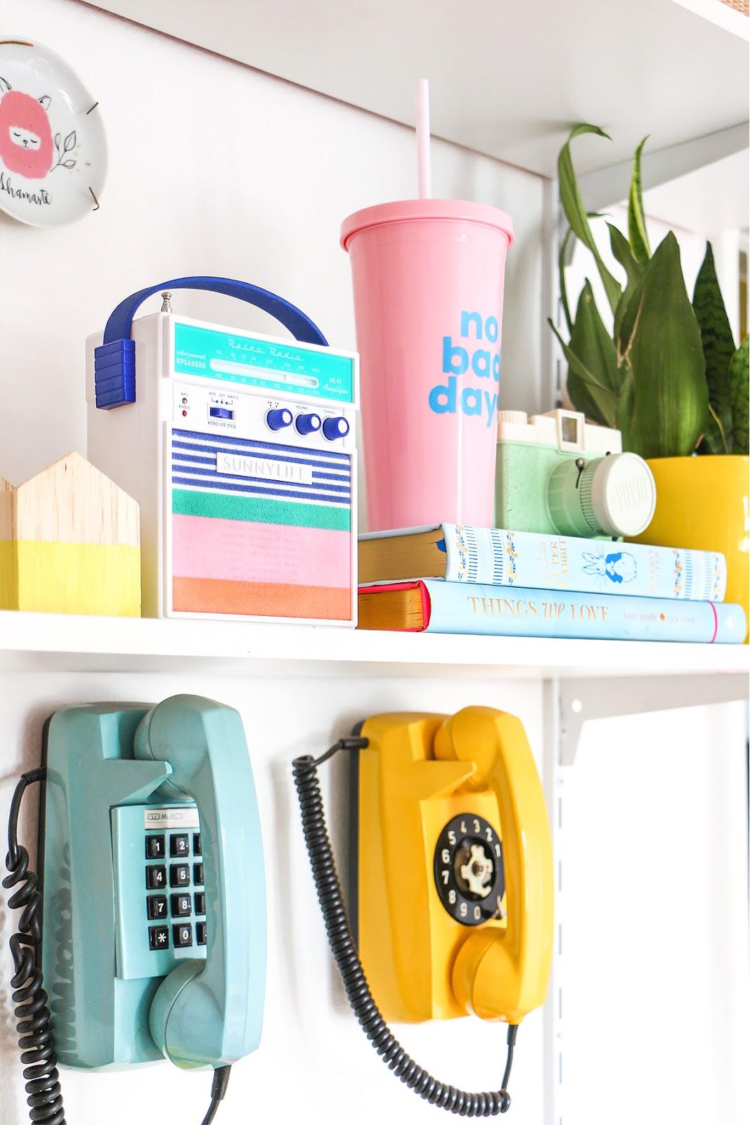 telefone antigo de disco tijolinho de parede colorido mercado livre