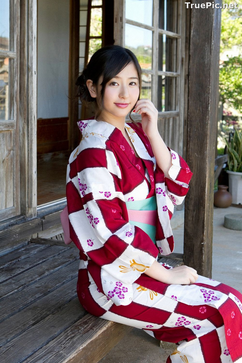 Image [YS Web] Vol.561 - Japanese Actress and Gravure Idol - Murakami Yuri - TruePic.net - Picture-3