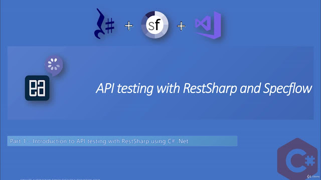 API testing with RestSharp and Specflow in C#