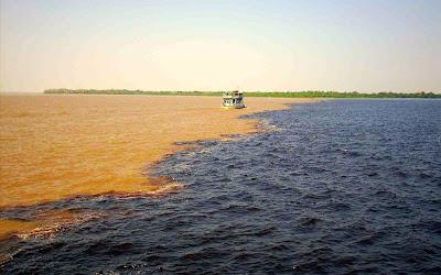 Manaus - encontro das águas