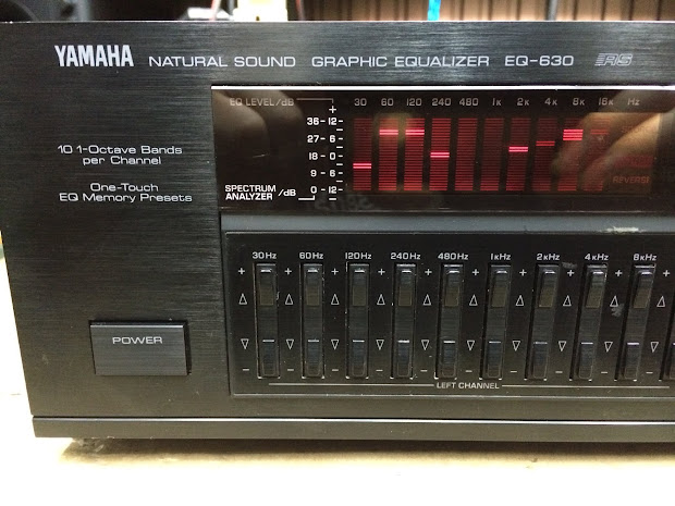 Yamaha Eq 630 Digital Graphic Equalizer Audiobaza - Year of Clean Water