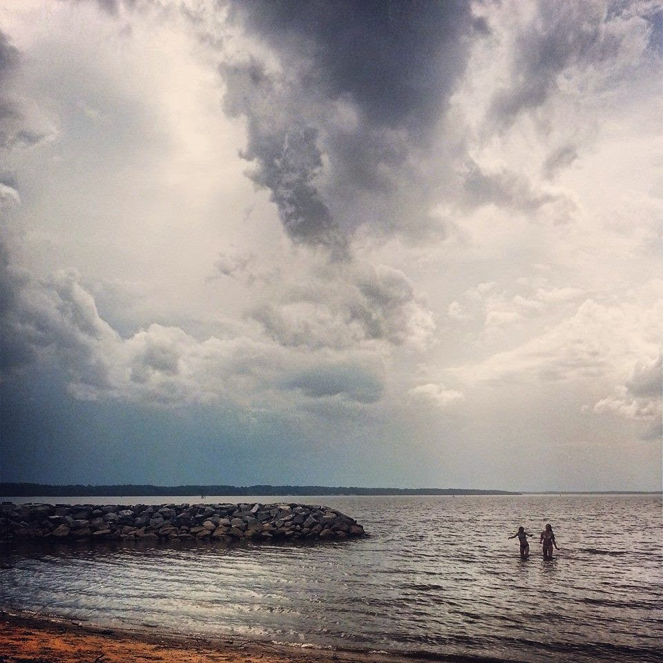 Living In Williamsburg, Virginia: Jamestown Beach Park ... |Williamsburg Beach