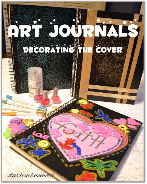 art journals/ sketch books