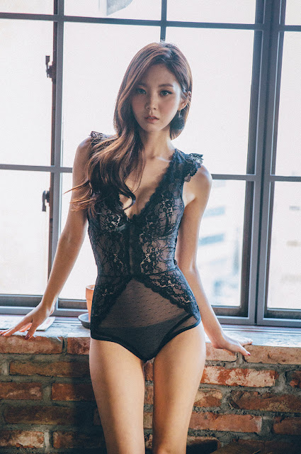 3 Chae Eun - Lingerie Collection - very cute asian girl-girlcute4u.blogspot.com