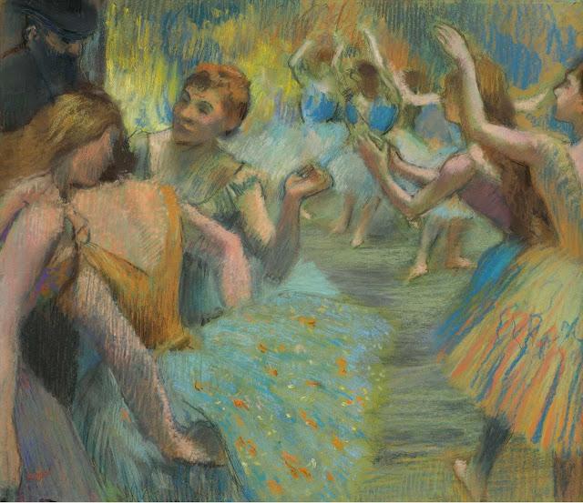 Эдгар Дега - Балет (1885)