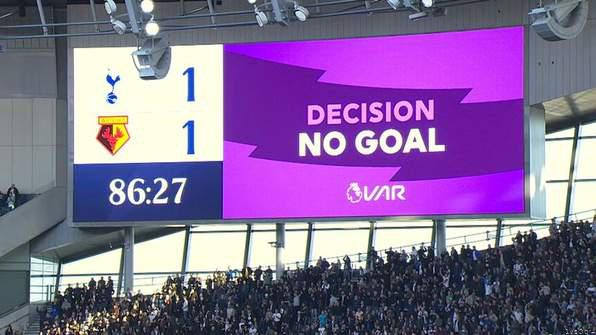 VAR Chiefs Apologise for Screen Error in Tottenham Draw