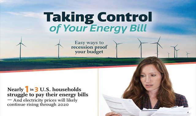 Easy ways of reducing your energy bills #infographic