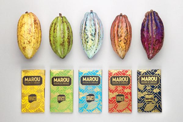 Thiết kế bao bì sản phẩm đẹp Marou