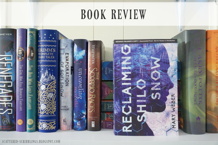 Book Review - Reclaiming Shilo Snow by Mary Weber [post title image]
