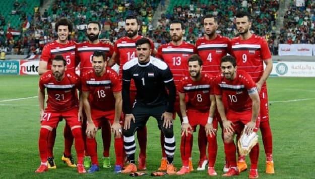 منتخب سورية في المركز 74 عالمياً و6 آسيوياً