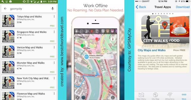 gpsmycity app review use offline