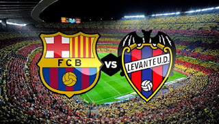 مواجهة قويه اليوم بين فريق ليفانتى وبرشلونة بالدوري الأسباني